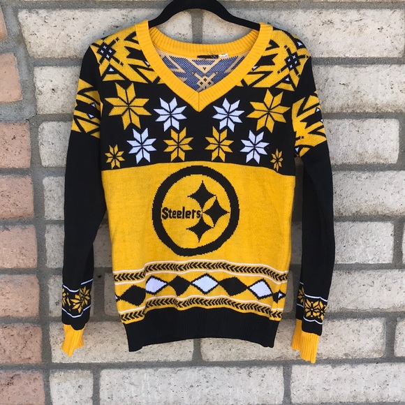 new style 3c066 89e21 NFL Steelers ugly sweater